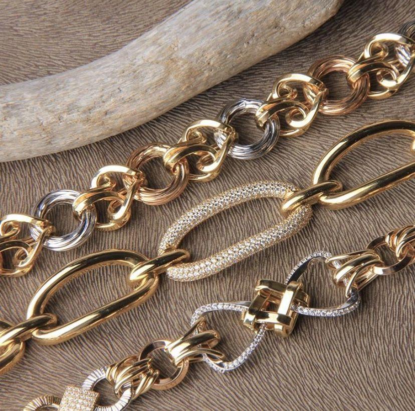 اساور ذهب Jewelry Infinity Bracelet Gold