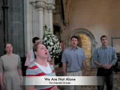 The Emerald Chorale toured Ireland in June 2008 and found Christ Church cathedral in Dublin, Ireland a perfect place for an impromptu Christian worship service with this beautiful song.