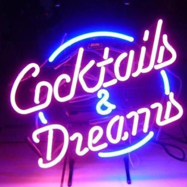 Dreams Beer Bar Open Handmade Art Neon