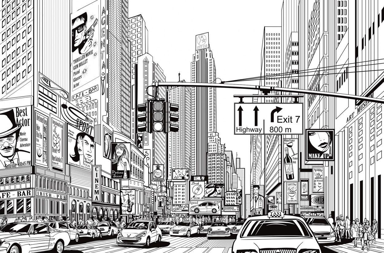 Cartoon City in 2019 | Superhero Nation | City drawing ...