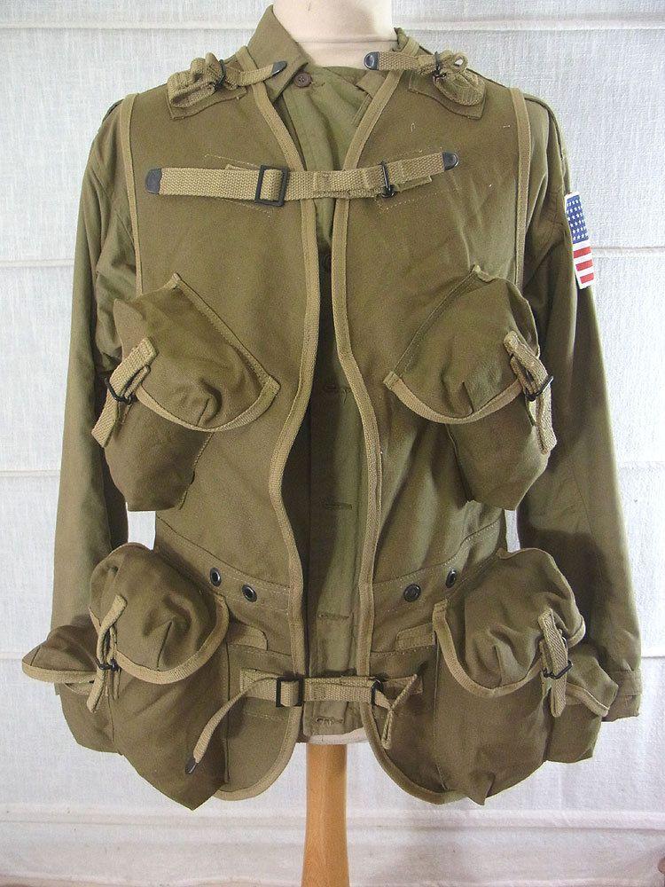 D Day Invasion Us Army Ww2 Ranger Assault Vest Normandie