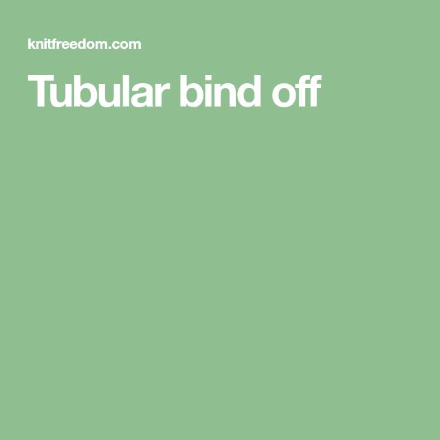 Bind Off, Binding, Stretchy