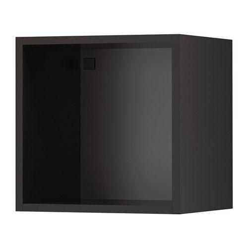 Tutemo Open Kast Antraciet Boekenplanken Open Cabinets