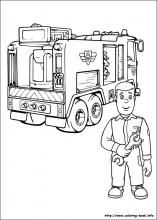 Fireman Sam coloring pages on ColoringBookinfo coloring pages