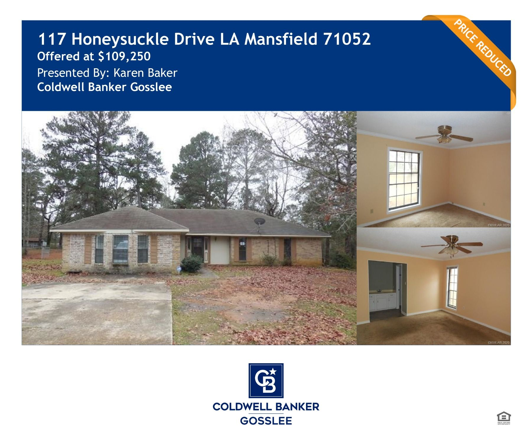 Price Reduced On This Beautiful 3 Bedroom 2.5 Bathroom