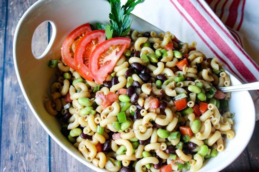 Edamame pasta salad recipe edamame pasta pasta salad