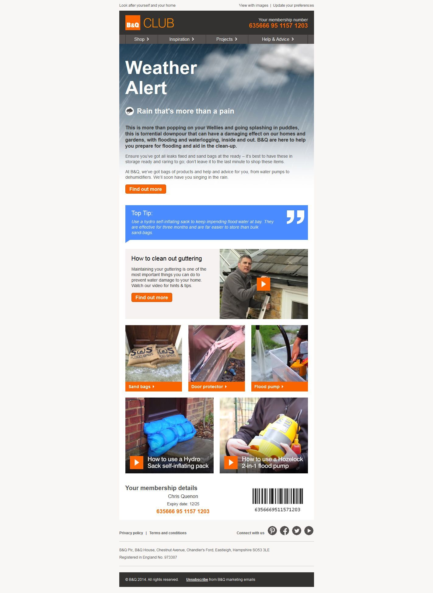 Pin by response one email on personalisation weather
