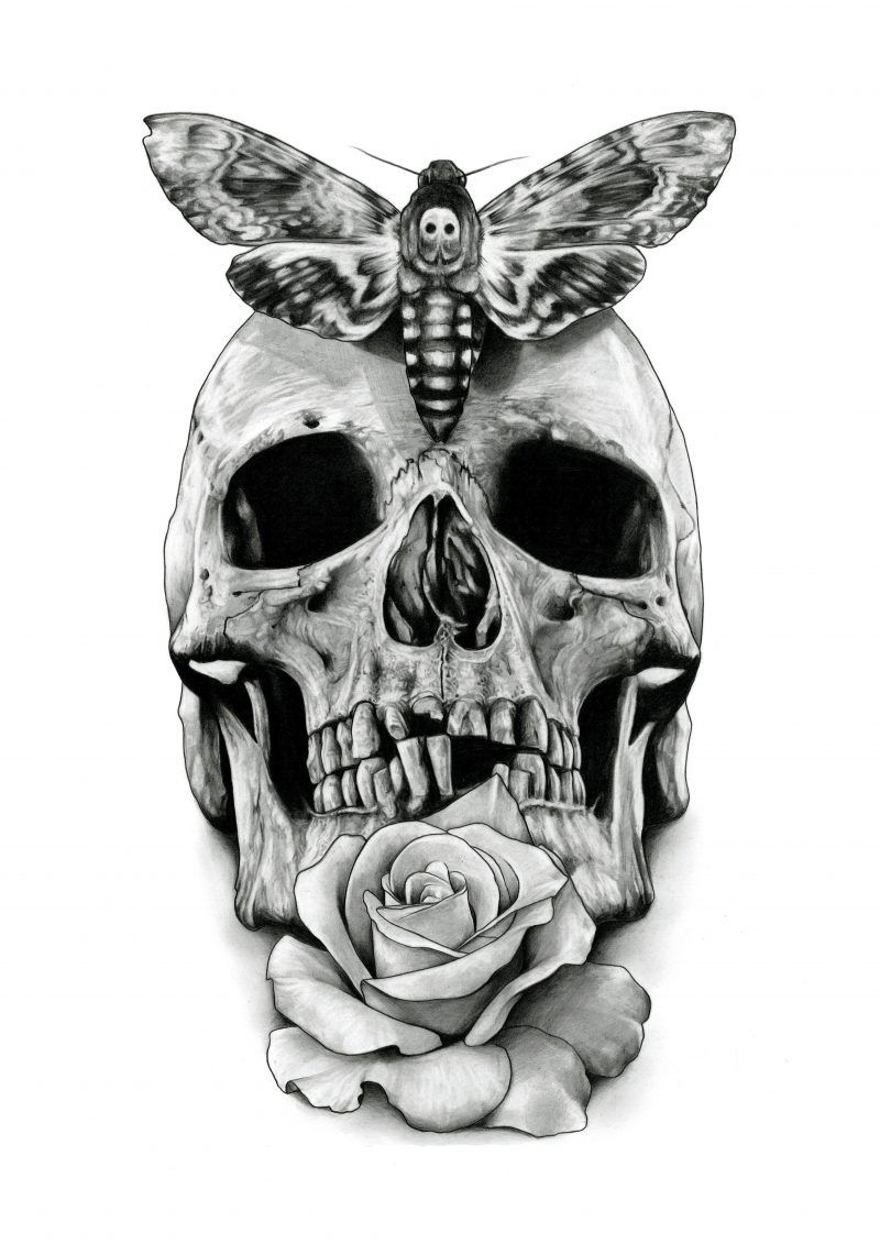 Pin Auf Tattoo Designs Unique Skulls 11