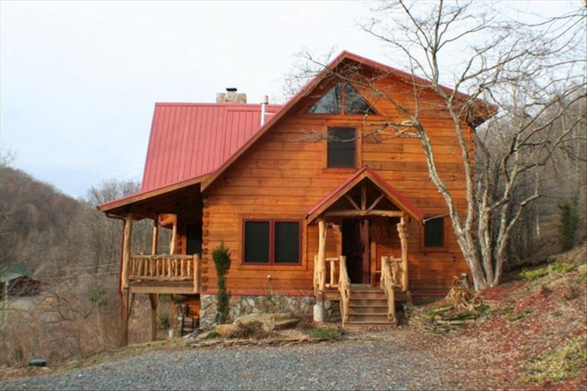 Vrbo Com 409070 Cozy Log Cabin With Stunning View Hot Tub Private Fireplace Nc Cabin Rentals Boone Nc Cabin Rentals Cabin Vacation