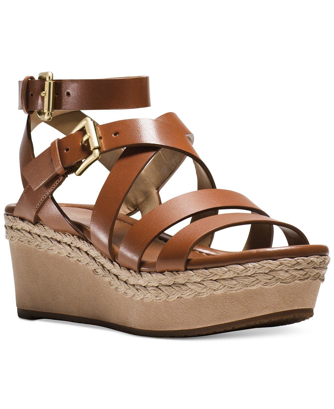 8f5b773a6b9 MICHAEL Michael Kors Jocelyn Platform Sandals - Sandals - Shoes - Macy s