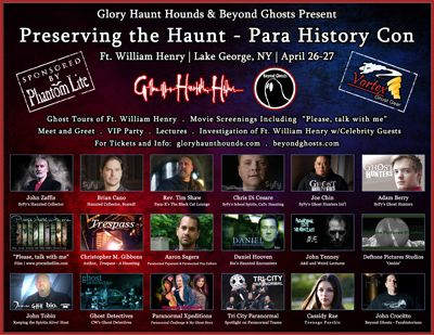 Para History Convention at Fort William Henry Hotel, Lake George, New York. #paranormal #ghosts #spirits