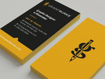 38 pro designers reveal their top business card design tips black and yellow black and yellow httpbloguprintingdesigners pick favorite business card designs tips reheart Choice Image