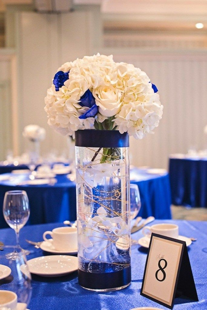 Royal Blue And Gold Wedding Decorations G9kuoihh 25 Breathtaking Centerpieces In 2017
