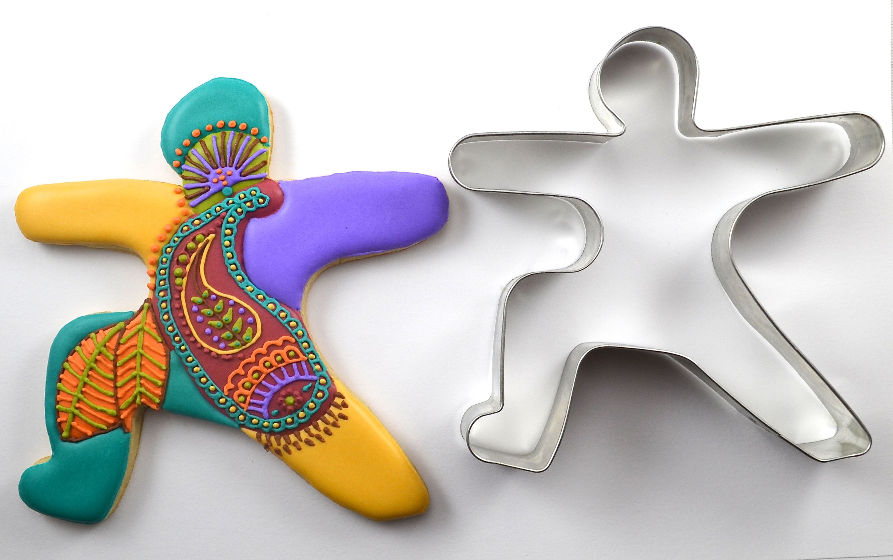 Yoga cookie cutter collection how to do yoga yogi yoga