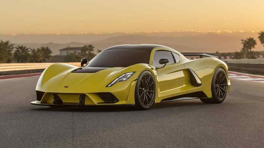 300 Mph Hennessey Venom F5 Production Model Arriving In 2020