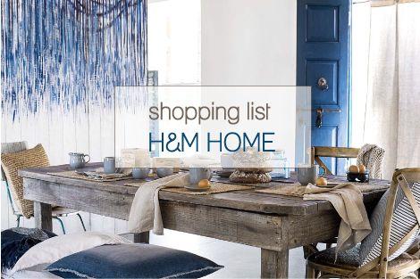 Shopping list per la casa al mare beach house for Piani di casa in stile cottage cape cod