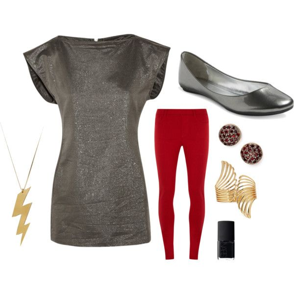 {Thor-inspired outfit.}