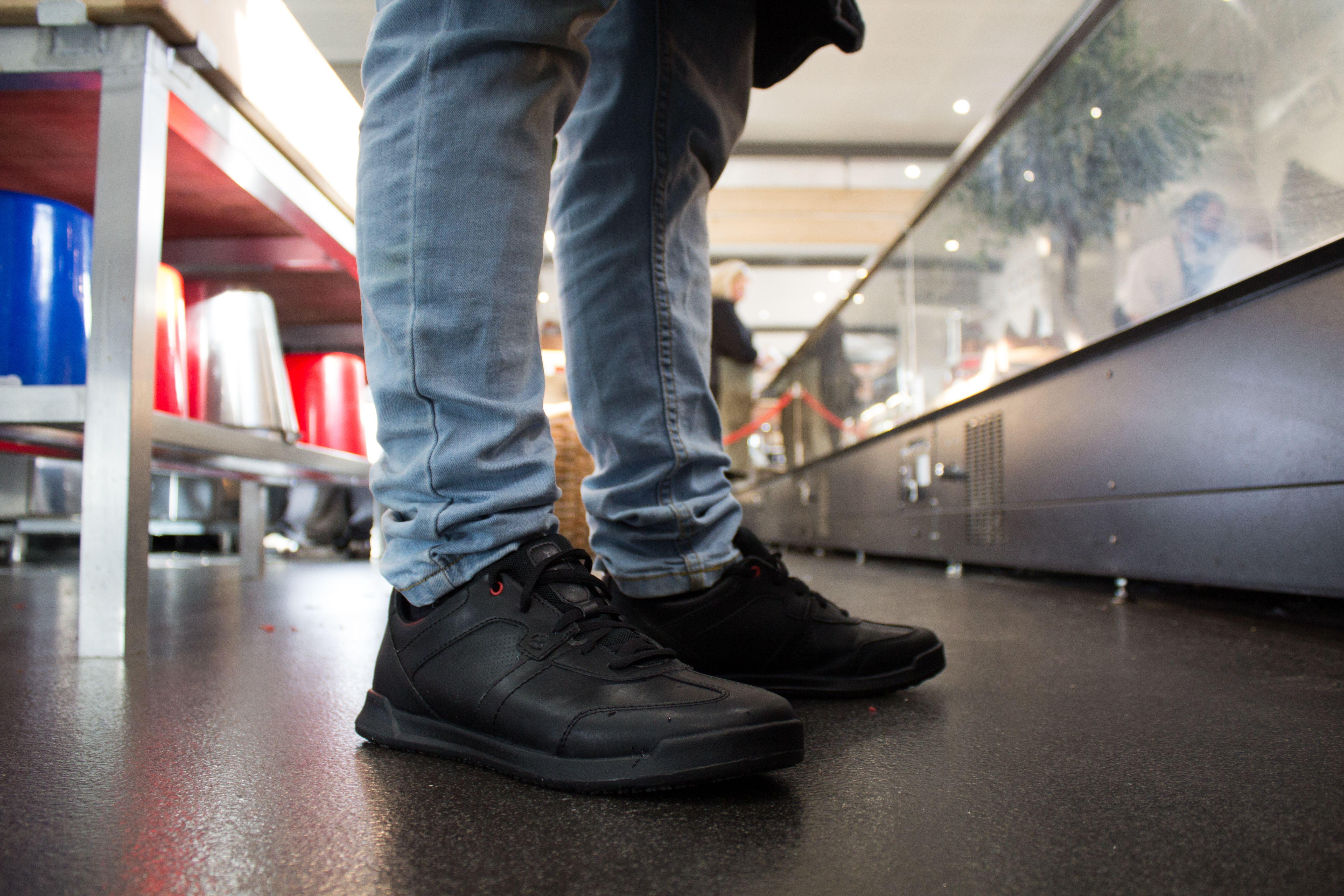 Pin on Shop Men's Slip-Resistant Footwear