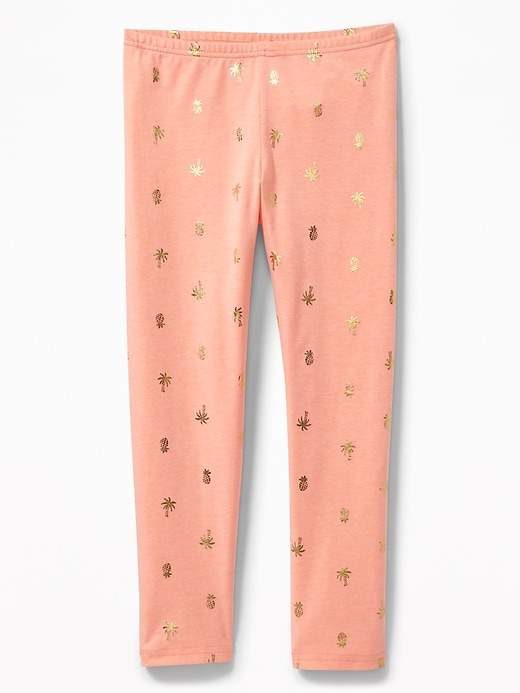 0140cc930b169 Old Navy Printed Cropped Leggings for Girls | Products | Girls in ...