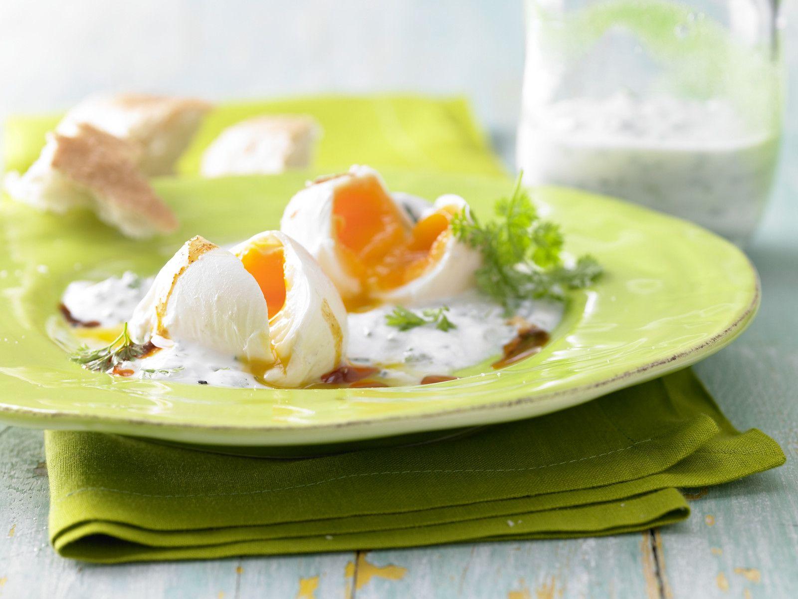 Pochierte eier rezept oster rezepte pinterest pochiertes ei eier und eiwei di t - Eier weich kochen zeit ...