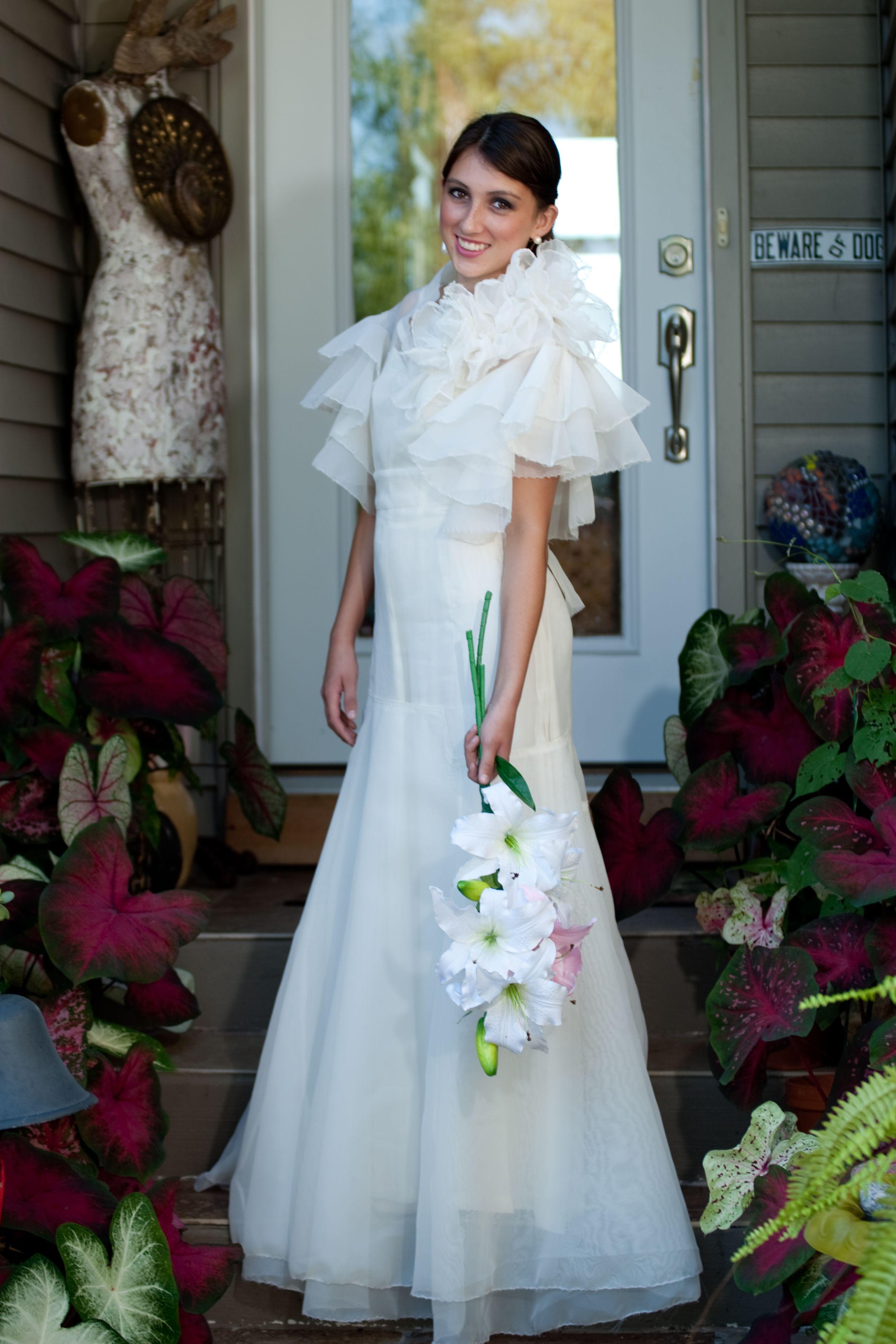 Vintage Inspired 1930s Ginger Rogers Dream Wedding Dress - Very Tres ...