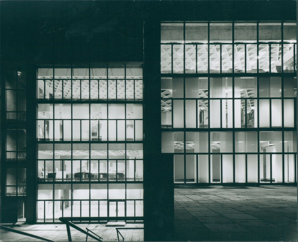 Yale university art gallery 1953 new haven for Louis kahn buildings