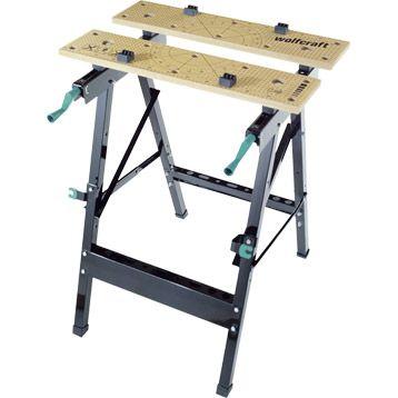etabli pliant wolfcraft workbench 150 79cm for my him. Black Bedroom Furniture Sets. Home Design Ideas