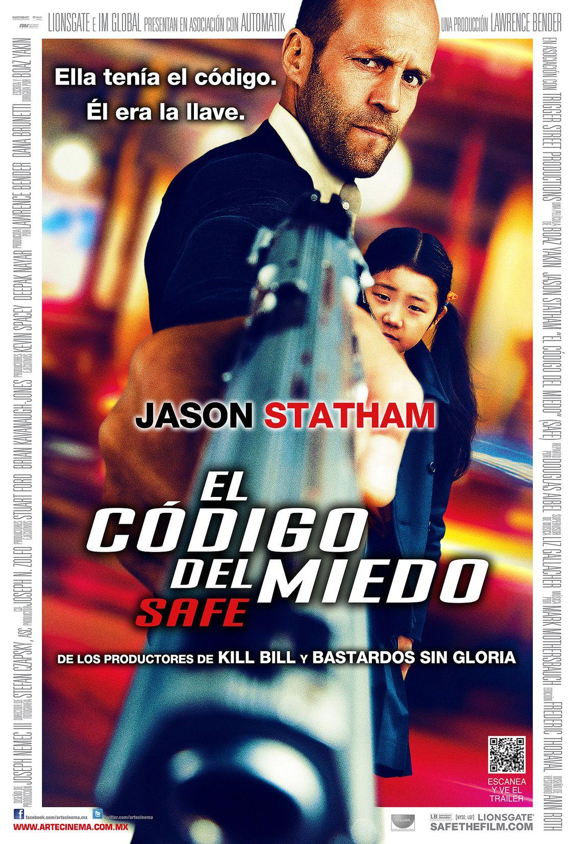Poster El Codigo Del Miedo Peliculas Cine Jason Statham Peliculas