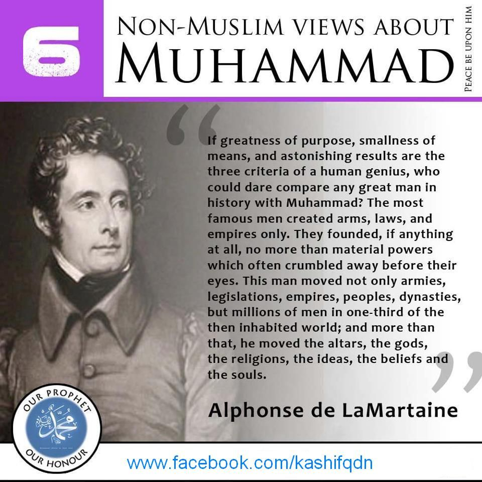 Views Of Some Non-Muslim Scholars About PROPHET MUHAMMAD
