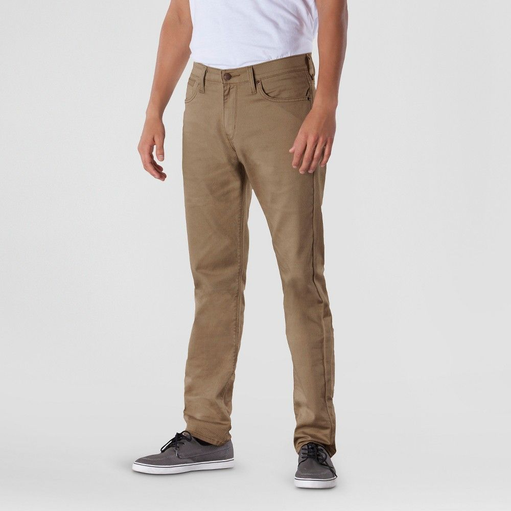 d09b27c5 Denizen from Levi's - Men's 232 Slim Straight Fit Jeans Rafter 38X30, Brown