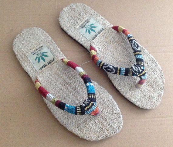 121ed31b293b Himalayan Pure Hemp Sandals by NepalTreasure on Etsy