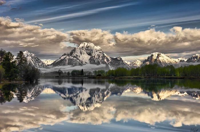 Reflejos en paisajes maravillosos 2