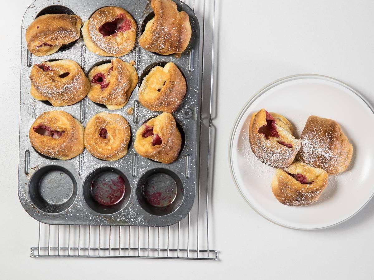 Raspberry Baby Dutch Babies | Recipe | Dutch baby recipe ...