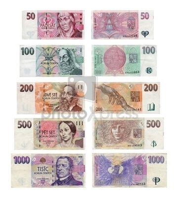Czech Republic Currency Money Stock Photo Photoxpress