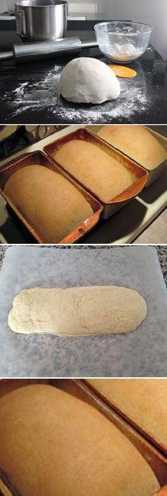 Recetas de pan casero: nunca comprarás pan otra vez, Si te gusta dinos HOLA y dale a Me Gusta MIREN …