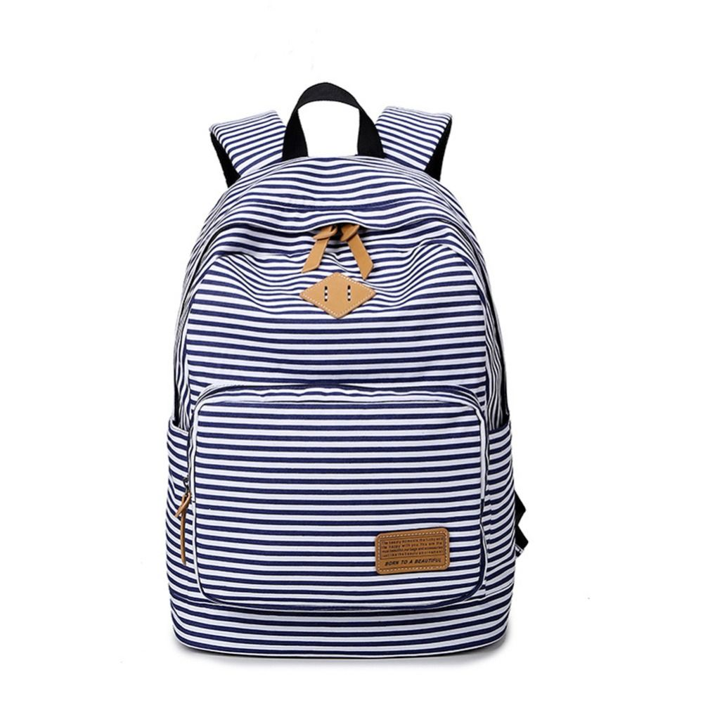 Canvas Backpack For High School- Fenix Toulouse Handball 85f2fcf81be2d