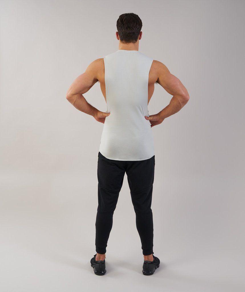 5cdc26e8fe9c3b Gymshark Eaze Sleeveless T-Shirt - Pastel Green 2