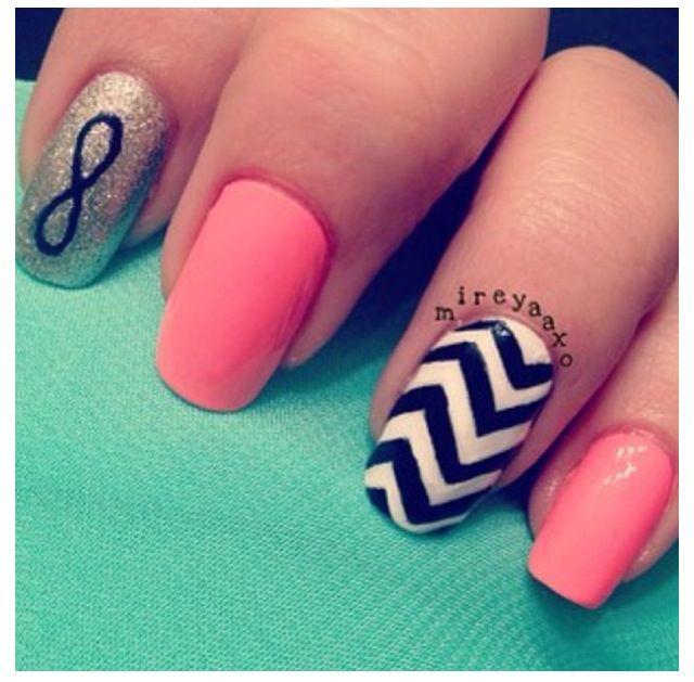 Infinte | nails | Pinterest | Makeup, Nail nail and Fun nails