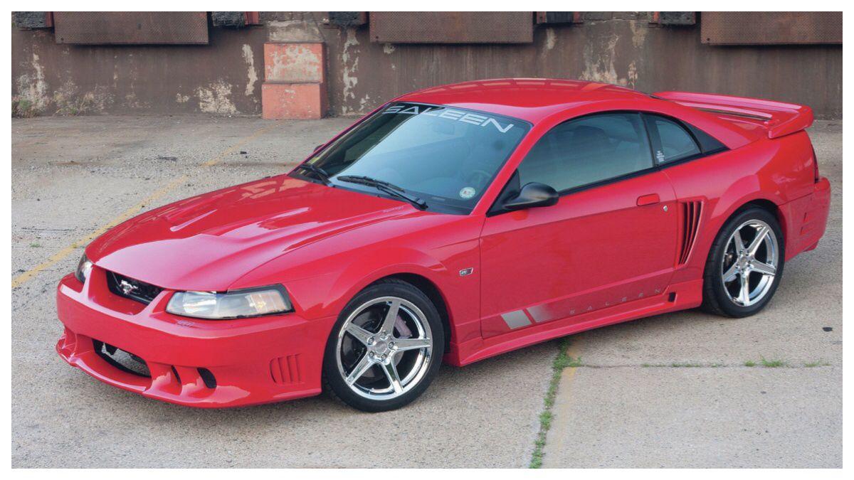 2003 Saleen Mustang S281 Saleen Mustang Red Mustang Ford Mustang