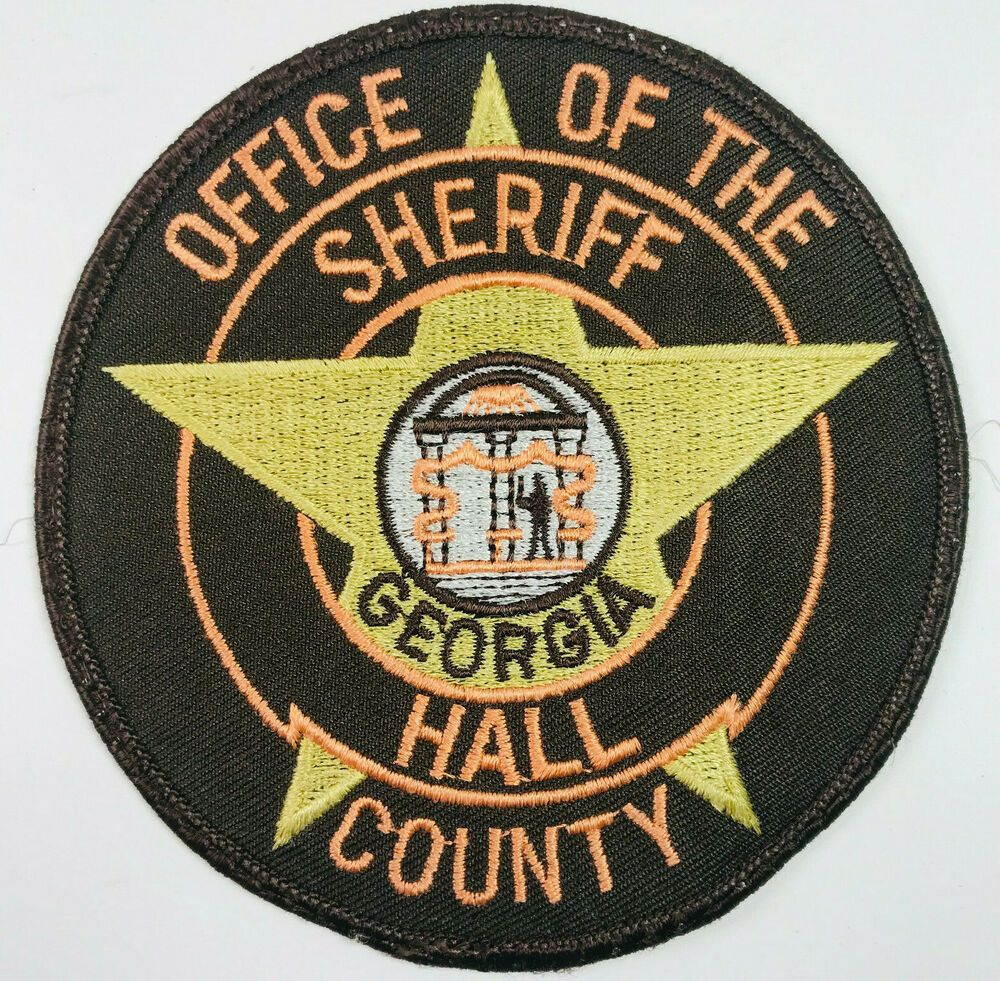 Hall County Sheriff Patch in 2020 Sheriff