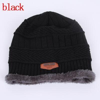 21f5c97fb7223 BINGYUANHAOXUAN Men Warm Hats Cap Scarf Winter Wool Hat Knitting for Men  Caps .