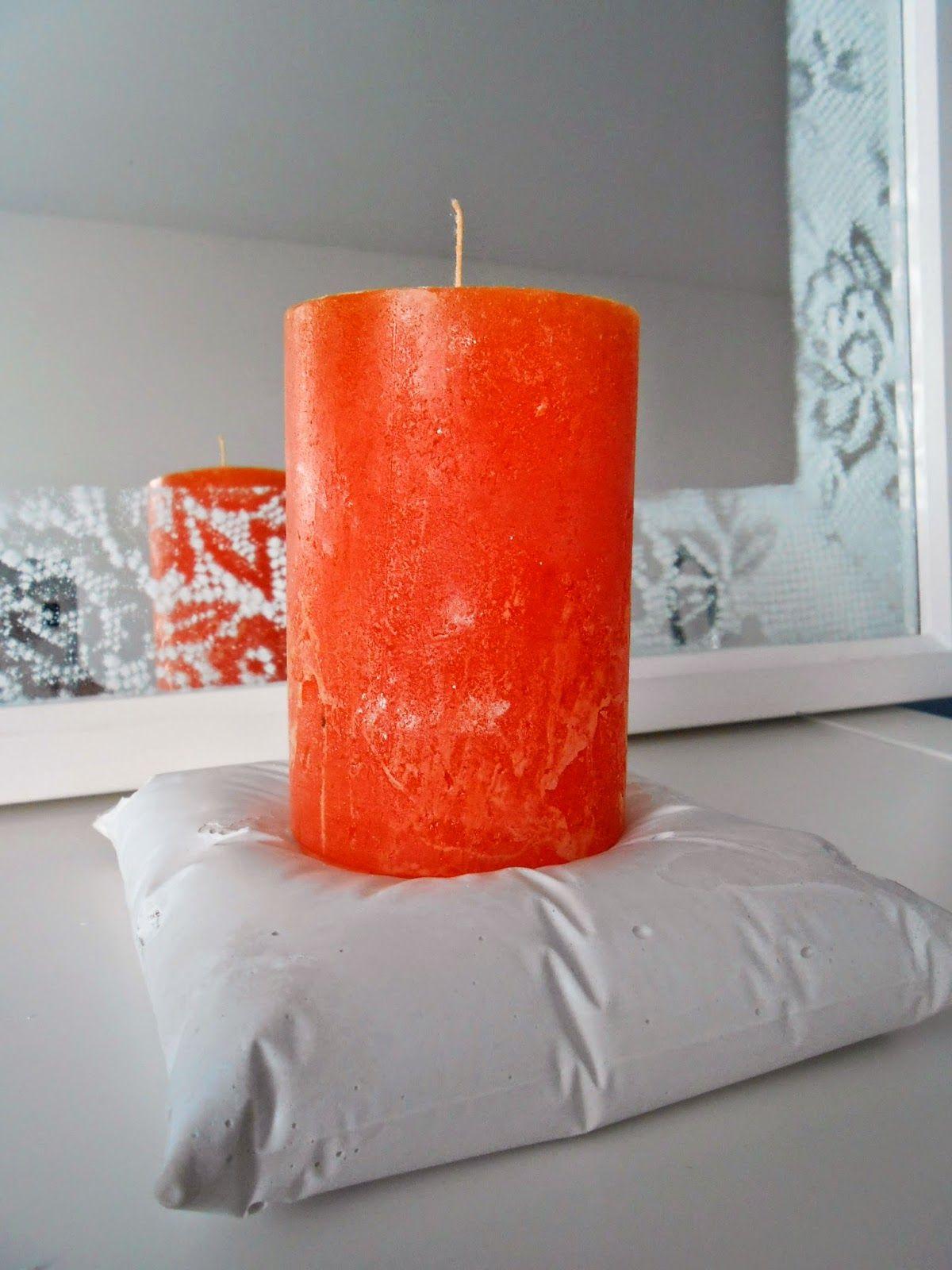 Kipsinen kynttilänalunen