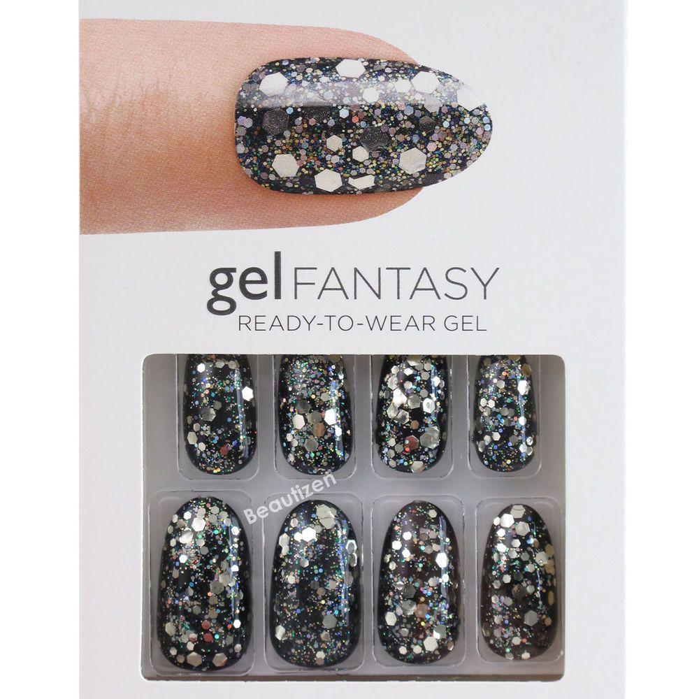 Impress press on manicure nails my style pinterest - Kiss Gel Fantasy Glue On 24 Nails Kit Medium Kgn56 Kiss
