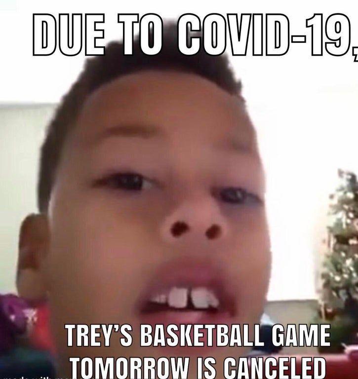 Basketball game...not tomorrow