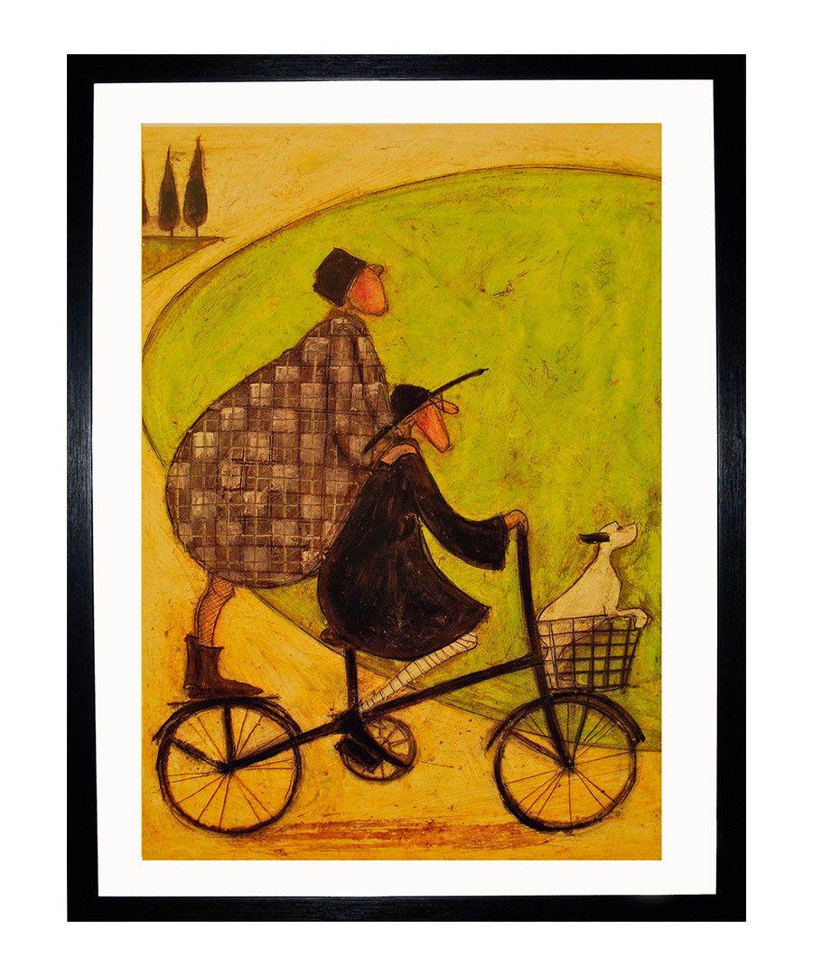 Paragon Prints Double Decker Bike framed print, Designer Homeware ...