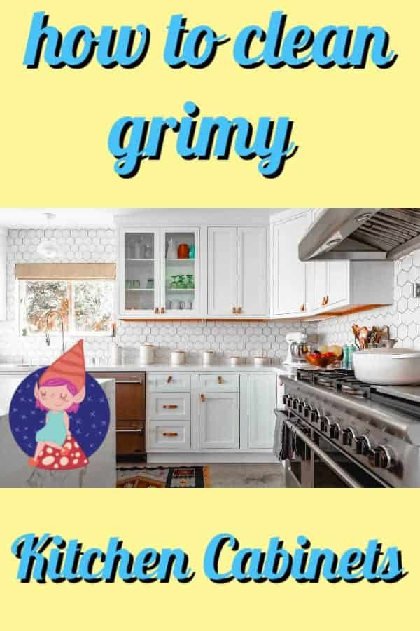 The Best Way to Clean your Kitchen Cabinets DIY cleaning ...