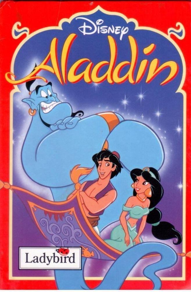 Ladybird -  Disney - Aladdin  - Junior Picture Book - Hardcover - S/Hand