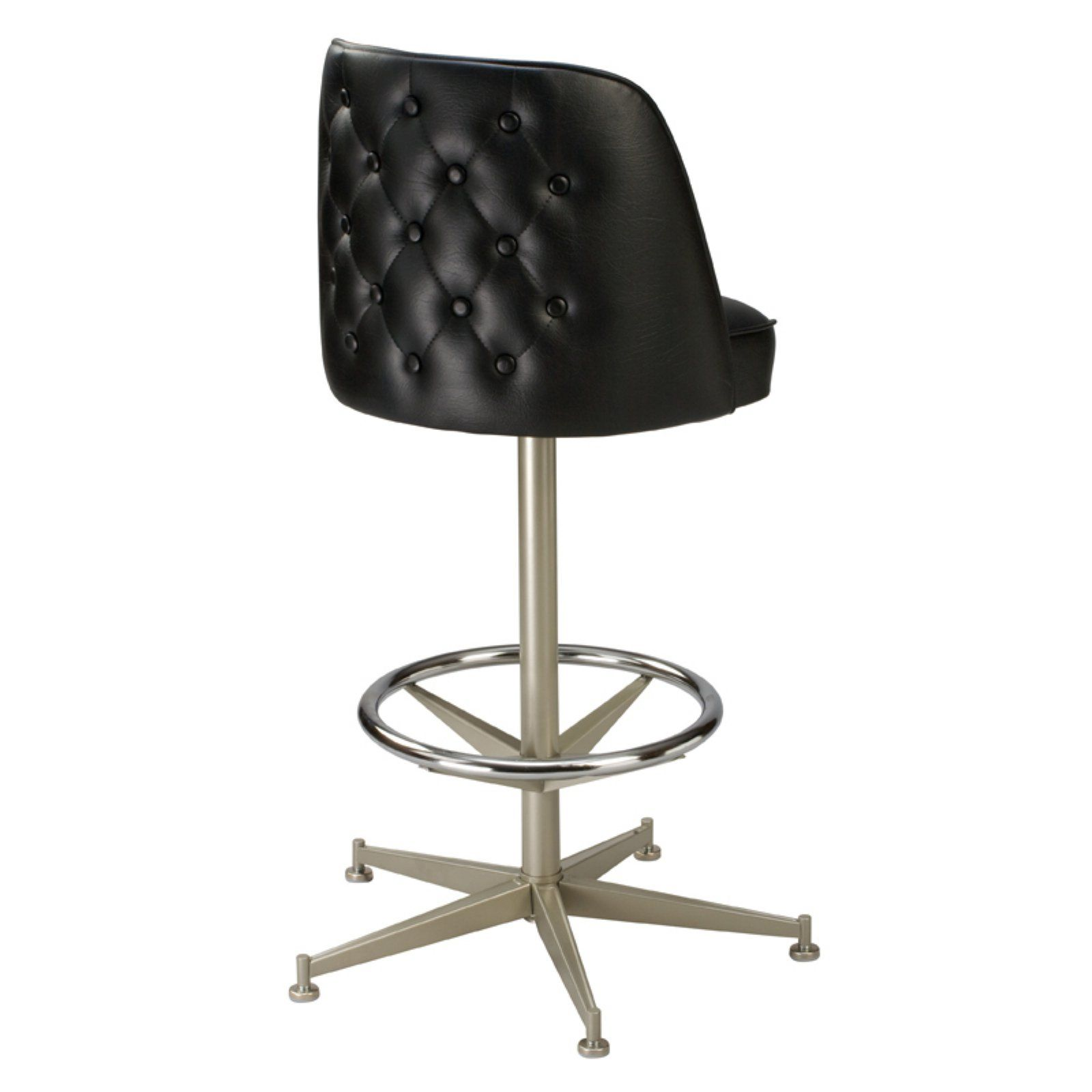 Phenomenal Regal Bucket Seat Button Tufted 26 In Cone Metal Counter Bralicious Painted Fabric Chair Ideas Braliciousco