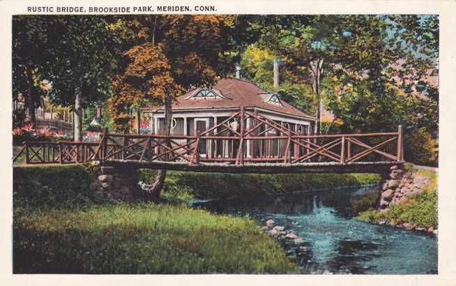 Rustic Bridge, Brookside Park