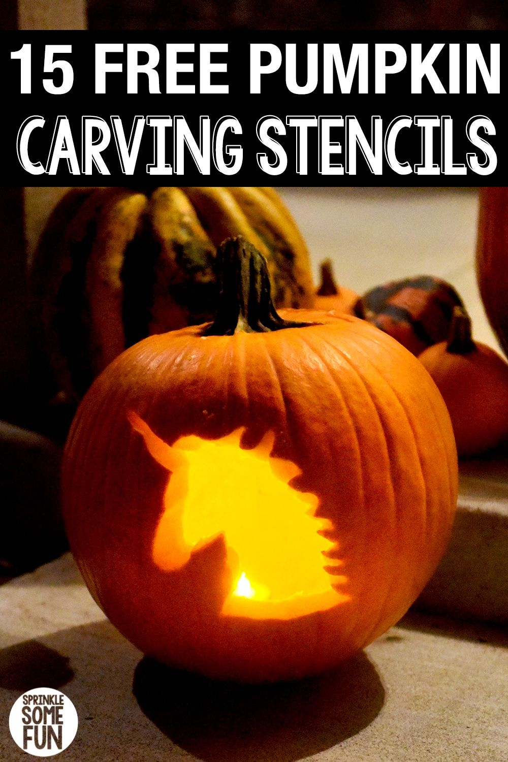 15 Free Pumpkin Carving Stencils Printables Tips Sprinkle Some Fun Pumpkin Carving Stencils Free Pumpkin Carving Cute Pumpkin Carving